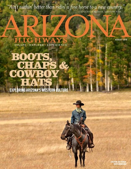 Arizona Highways Cover - 8/1/2018
