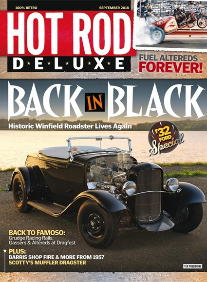 Hot Rod Deluxe Cover - 9/1/2018