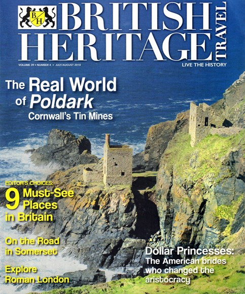 British Heritage Travel Cover - 7/1/2018