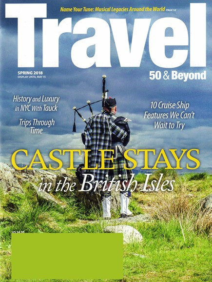 Travel 50 & Beyond Cover - 4/1/2018