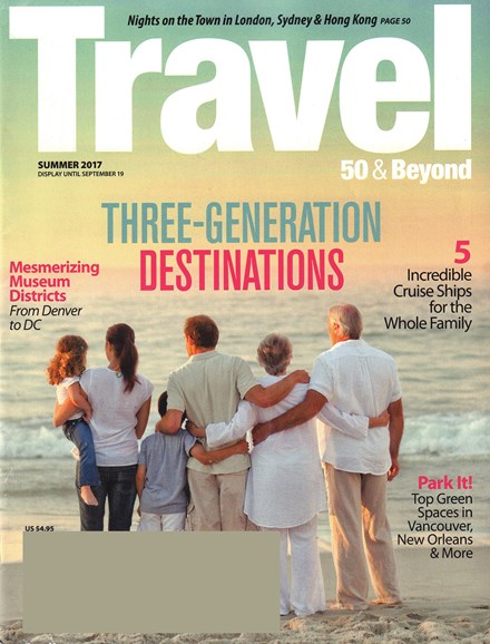 Travel 50 & Beyond Cover - 7/1/2017