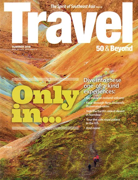 Travel 50 & Beyond Cover - 7/1/2018