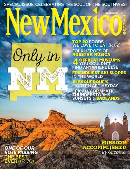 New Mexico Cover - 1/1/2015