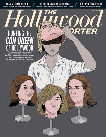 The Hollywood Reporter Cover - 7/11/2018