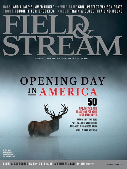 Field & Stream Cover - 8/1/2018