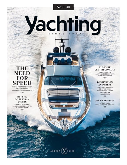 Yachting Cover - 8/1/2018