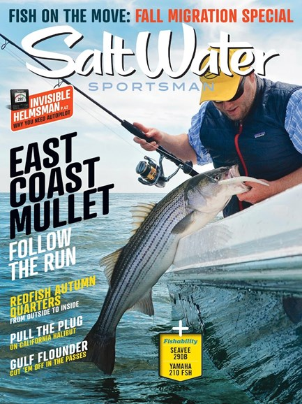 Salt Water Sportsman Cover - 8/1/2018