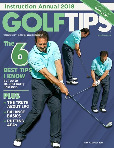 Golf Tips Cover - 7/1/2018