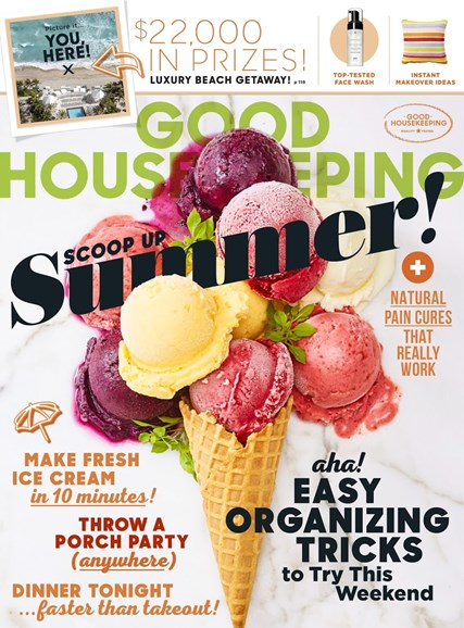 Good Housekeeping Cover - 8/1/2018