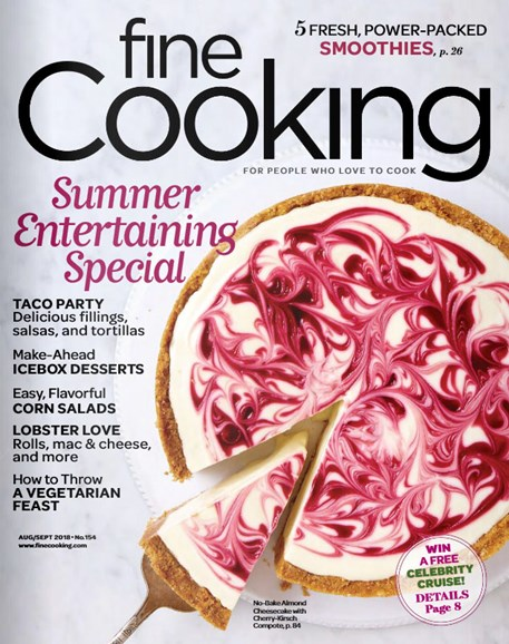 Fine Cooking Cover - 8/1/2018