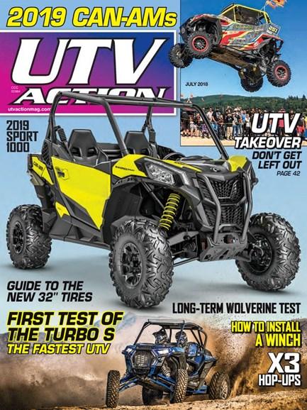 UTV Action Cover - 7/1/2018