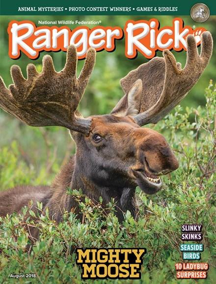 Ranger Rick Cover - 8/1/2018
