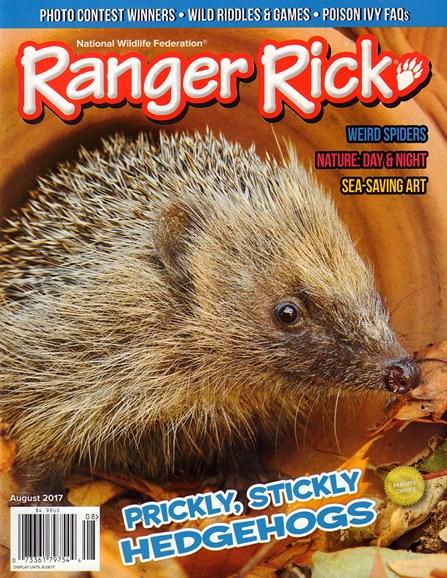 Ranger Rick Cover - 8/1/2017
