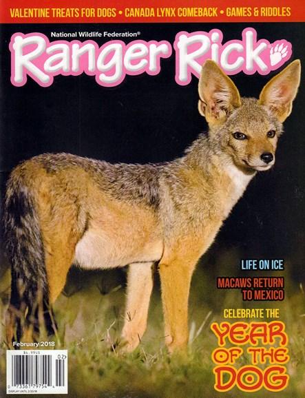 Ranger Rick Cover - 2/1/2018