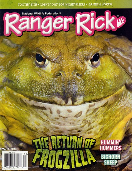 Ranger Rick Cover - 3/1/2018