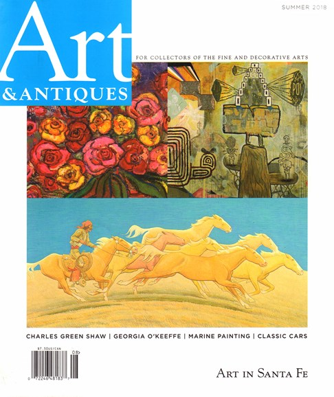 Art & Antiques Cover - 7/1/2018