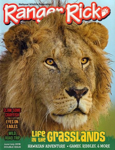 Ranger Rick Cover - 6/1/2018