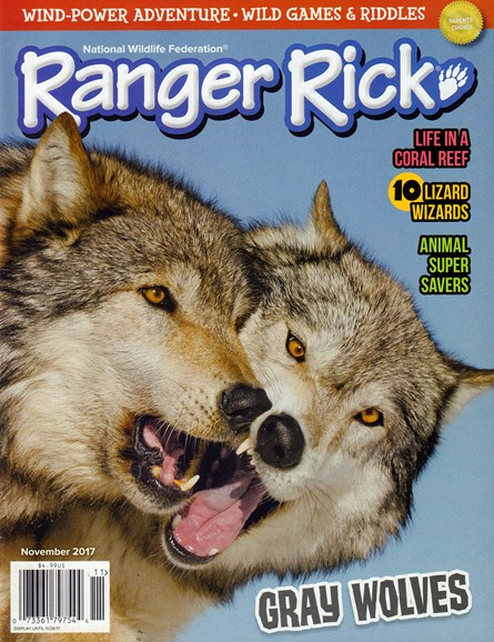 Ranger Rick Cover - 11/1/2017