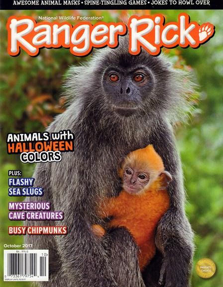Ranger Rick Cover - 10/1/2017