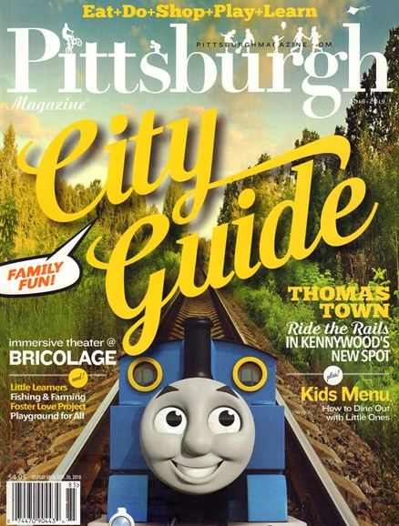 Pittsburgh Magazine Cover - 7/15/2018