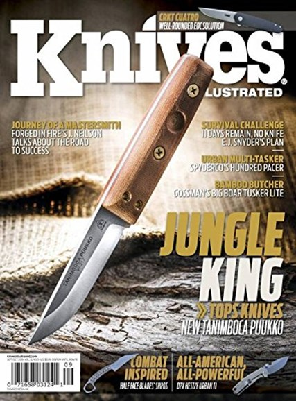 Knives Illustrated Cover - 9/1/2018