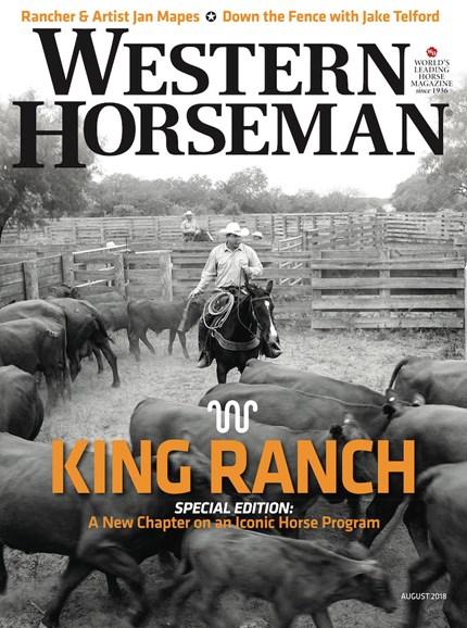 Western Horseman Cover - 8/1/2018