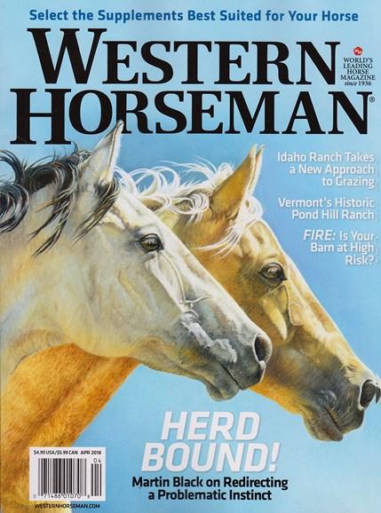 Western Horseman Cover - 4/1/2018