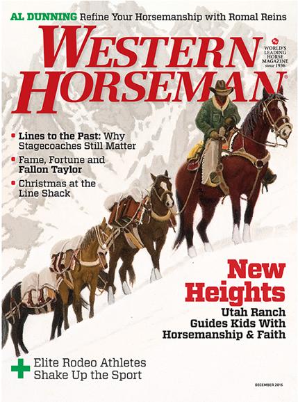 Western Horseman Cover - 12/1/2015
