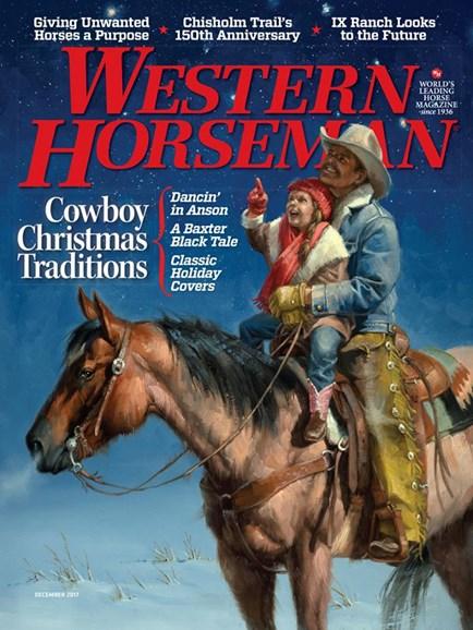 Western Horseman Cover - 12/1/2017
