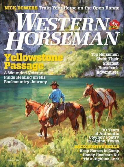 Western Horseman Cover - 2/1/2016