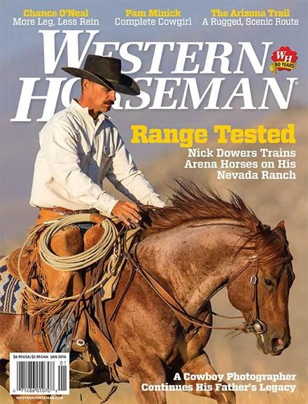Western Horseman Cover - 1/1/2016