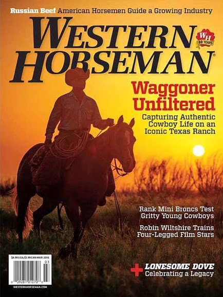 Western Horseman Cover - 3/1/2016