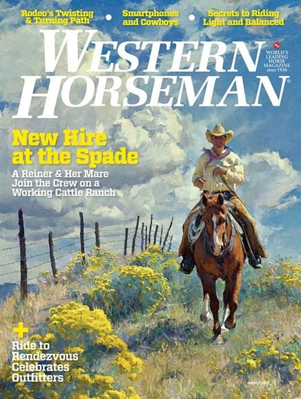 Western Horseman Cover - 3/1/2017