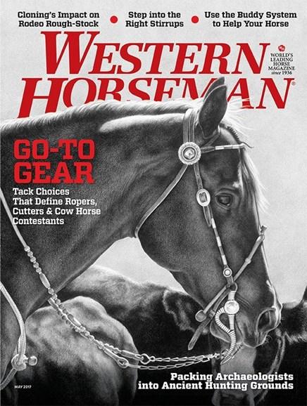 Western Horseman Cover - 5/1/2017