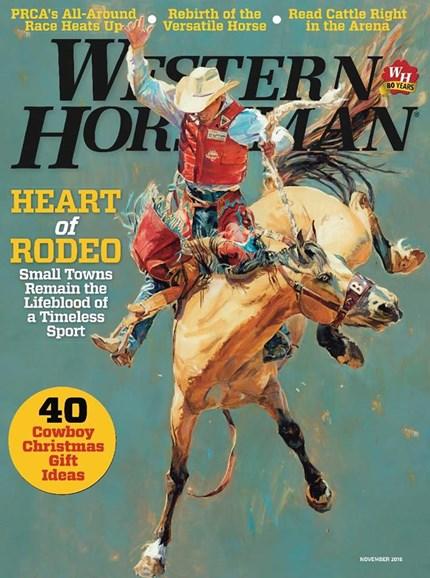 Western Horseman Cover - 11/1/2016