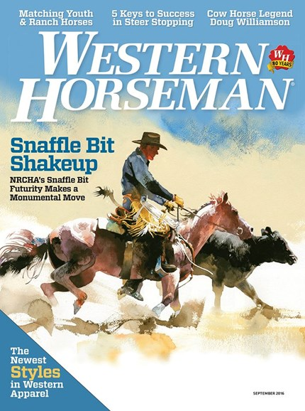 Western Horseman Cover - 9/1/2016