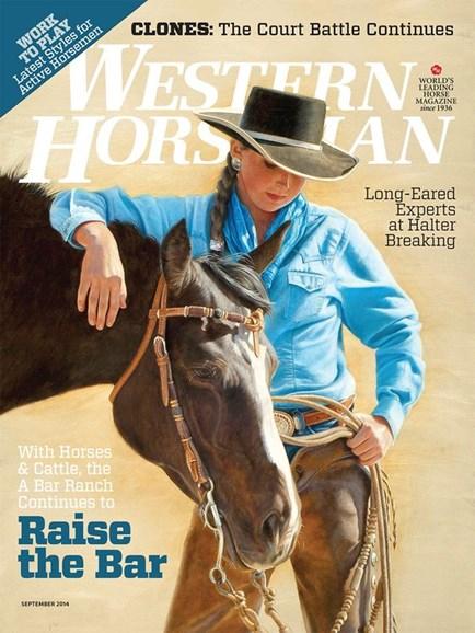 Western Horseman Cover - 9/1/2014
