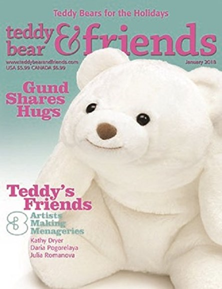 Teddy Bear Times & Friends Cover - 1/1/2018