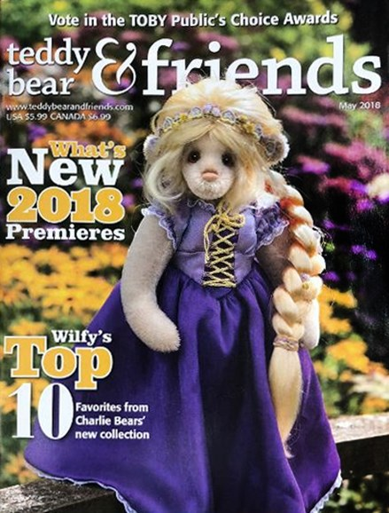 Teddy Bear Times & Friends Cover - 5/1/2018