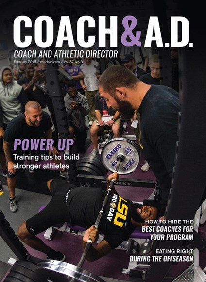 Coach & Athletic Director Cover - 2/1/2018