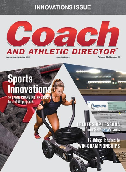Coach & Athletic Director Cover - 9/1/2016