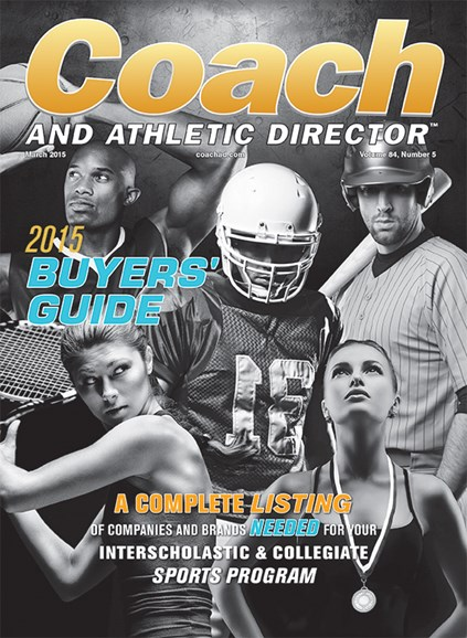 Coach & Athletic Director Cover - 3/1/2015