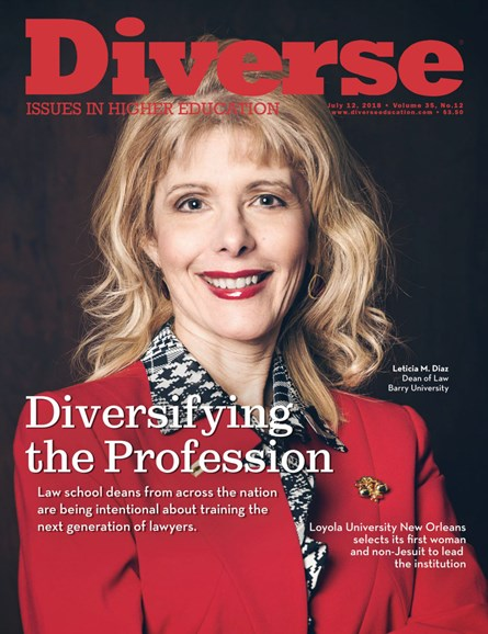Diverse: Issues In Higher Education Cover - 7/12/2018