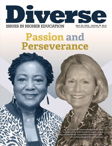 Diverse: Issues In Higher Education Cover - 4/19/2018