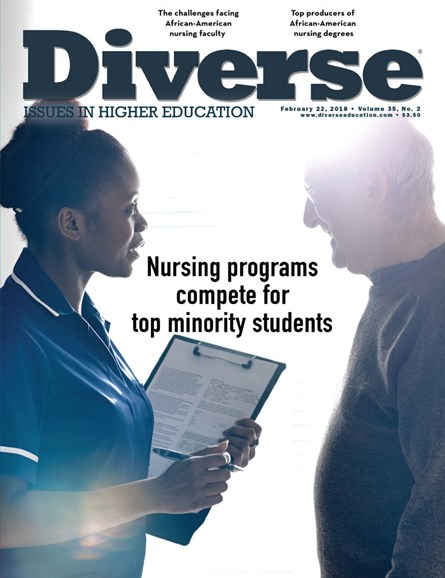 Diverse: Issues In Higher Education Cover - 2/22/2018