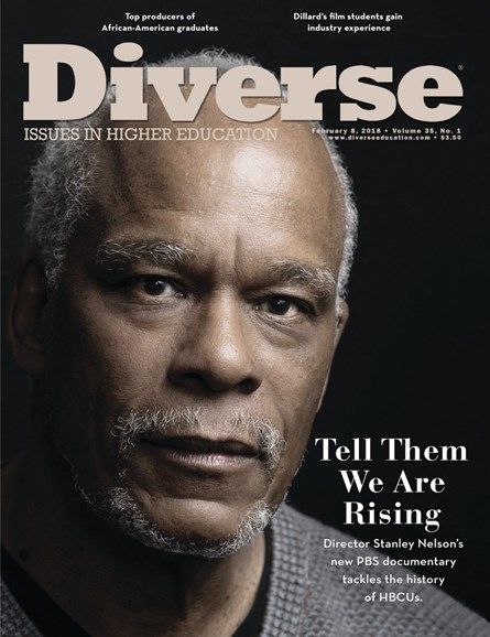 Diverse: Issues In Higher Education Cover - 2/8/2018