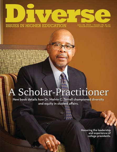 Diverse: Issues In Higher Education Cover - 6/28/2018