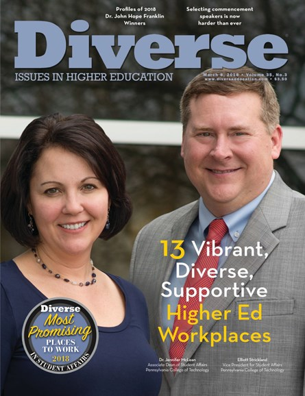 Diverse: Issues In Higher Education Cover - 3/8/2018
