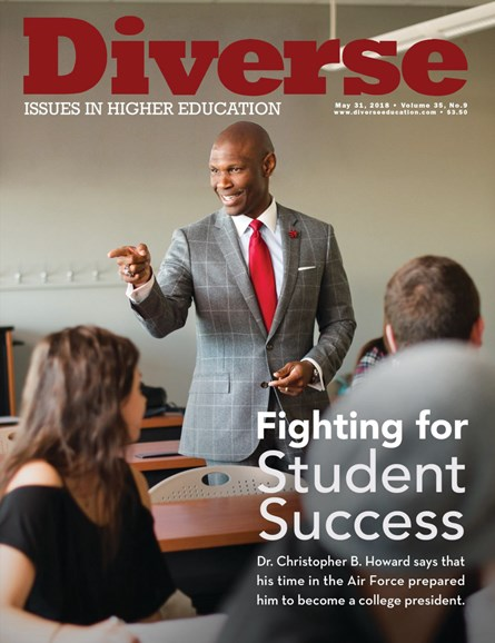 Diverse: Issues In Higher Education Cover - 5/31/2018