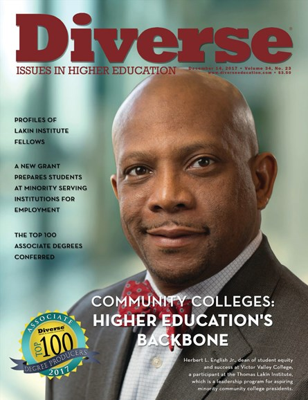 Diverse: Issues In Higher Education Cover - 12/14/2017
